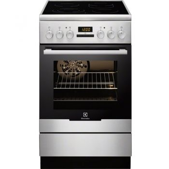 aragaz electric ELECTROLUX EKC54552OX
